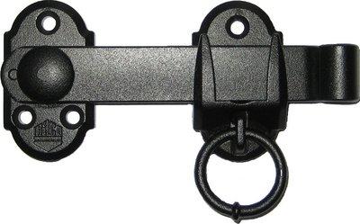 Maco overvalsluiting met ring 14216, zwart
