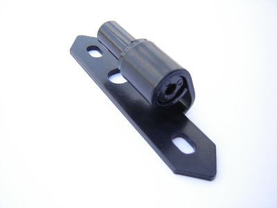 Plaatduim (kozijnmontage), zwart