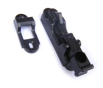 Automatische luikvastzetter (verborgen) Maco, zwart